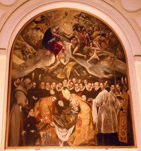 Iglesia San Tome... Oeuvre de Greco