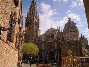 Plaza Mayor... La Cathédrale