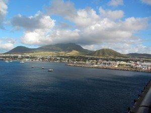 Un premier coup d'oeil sur St-Kitts